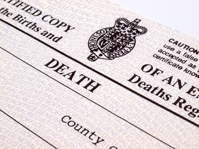 Everything You Need To Know About Death Certificates
