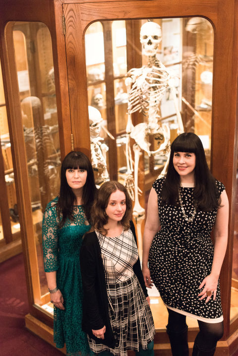 Sarah Troop, Megan Rosenbloom, Caitlin Doughty