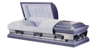 square cornered urn design casket