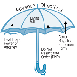 components of an advance directive
