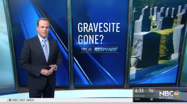 Bay Area man find outs his gravesite is occupied