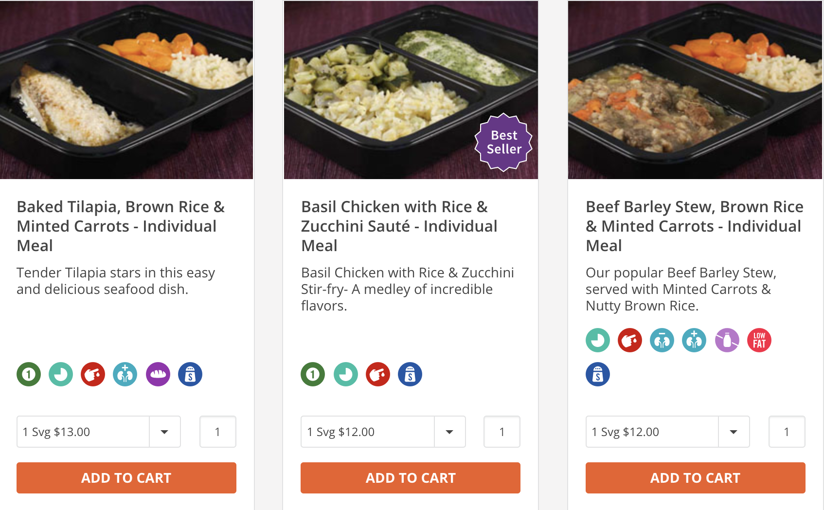 Order Meals as a Sympathy Gift